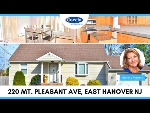 220 Mt. Pleasant | Homes for Sale East Hanover NJ | Morris County