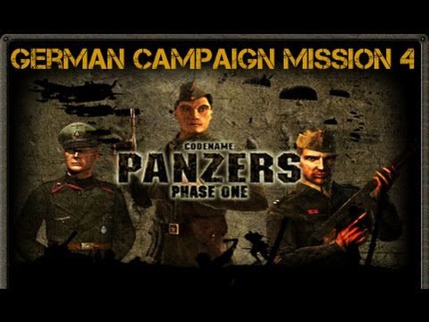 codename panzers phase one german campaign mission 4 youtube. Black Bedroom Furniture Sets. Home Design Ideas
