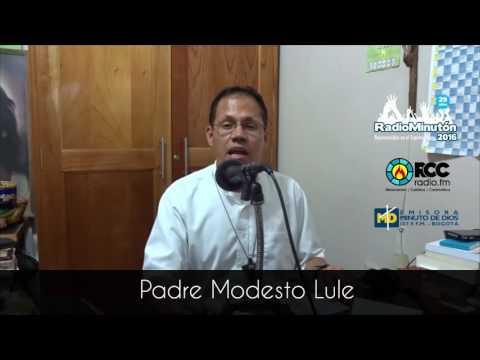 Invitación Padre Modesto Lule l Radio Minutón 2016