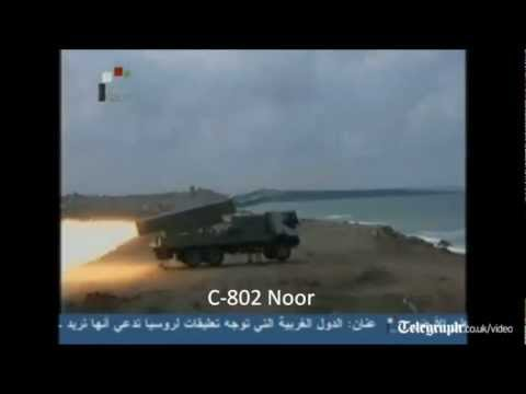 Syrian Navy Live Fire maneuvers 07-2012