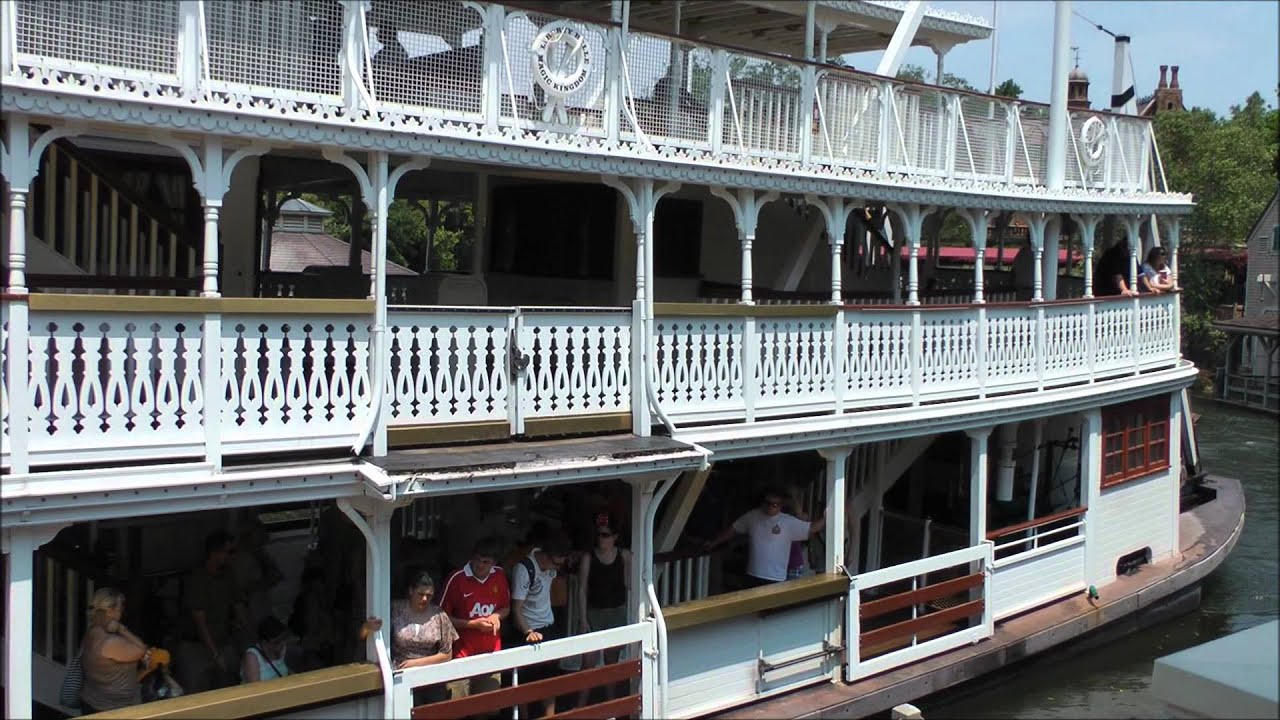 Liberty Square Riverboat, Magic Kingdom, Walt Disney World ...