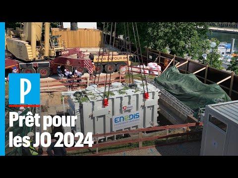 Paris : le nouveau transformateur électrique géant de l'Alma prêt pour les JO