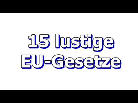 Lustige Gesetze Deutschland