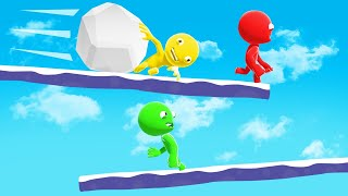 RUN From The BOULDER Or GET SQUASHED! (Party Panic)