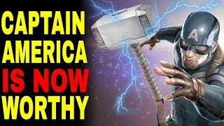 Avengers 4: Captain America Can NOW Lift Thor