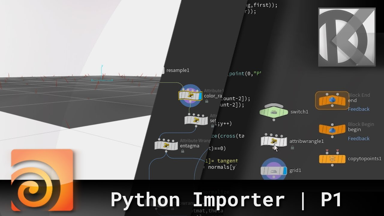 How to Create a File Importing Tool for Houdini With Python