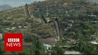 "Mexico wall construction to start  ""as soon as possible"" President Trump - BBC News"