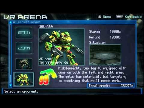 Mech Schmeck: BlueMaxima Plays Armored Core: Last Raven (PSP)