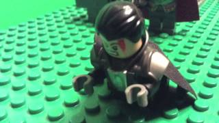DCEU: Man Of Steel - Jor-El VS General Zod in LEGO