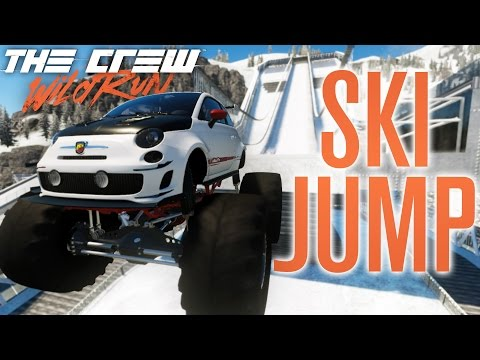 MONSTER TRUCK SKI JUMPING?! | The Crew Wild Run Gameplay w/ The Nobeds