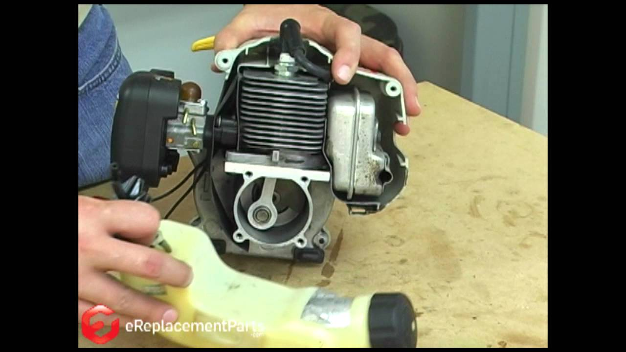 how to replace the fuel tank on a ryobi string trimmer [ 1280 x 720 Pixel ]