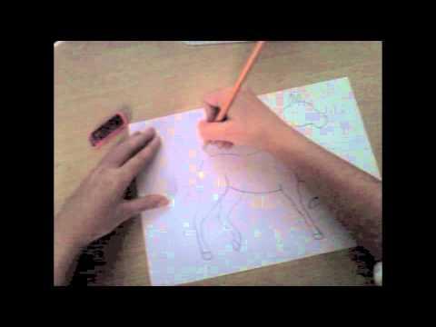 Come disegnare un cavallo semplice youtube for Immagini di cavalli da disegnare