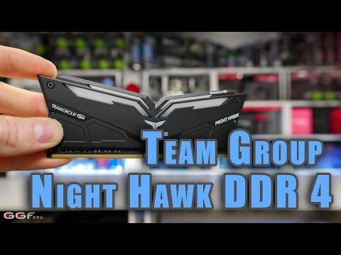NIGHT HAWK RGB / LED DDR4 desktop memory modules,rgb ram