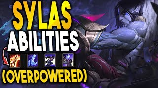 SYLAS ABILITIES & GAMEPLAY REVEAL! HE STEALS YOUR ULTIMATE?? - League of Legends