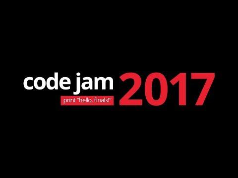 Code Jam 2017 World Finals Live Stream