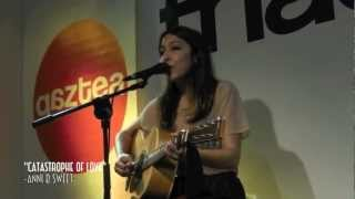 """Anni B Sweet Fnac Bilbao Presentando su nuevo trabajo """"Oh, Monsters"""" 29 de Junio 2012"""