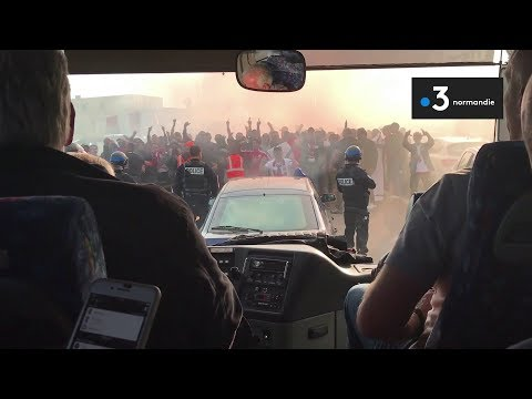 A bord du car du HAC attaqué à Ajaccio
