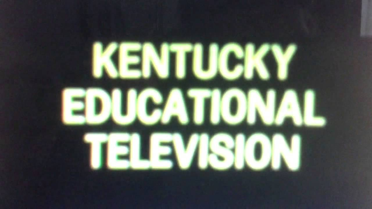 Kentucky Educational Television Logo 1968 1975 Youtube