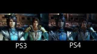 Dynasty Warriors 8 Xtreme Legends PS3 And PS4 Graphics Compared