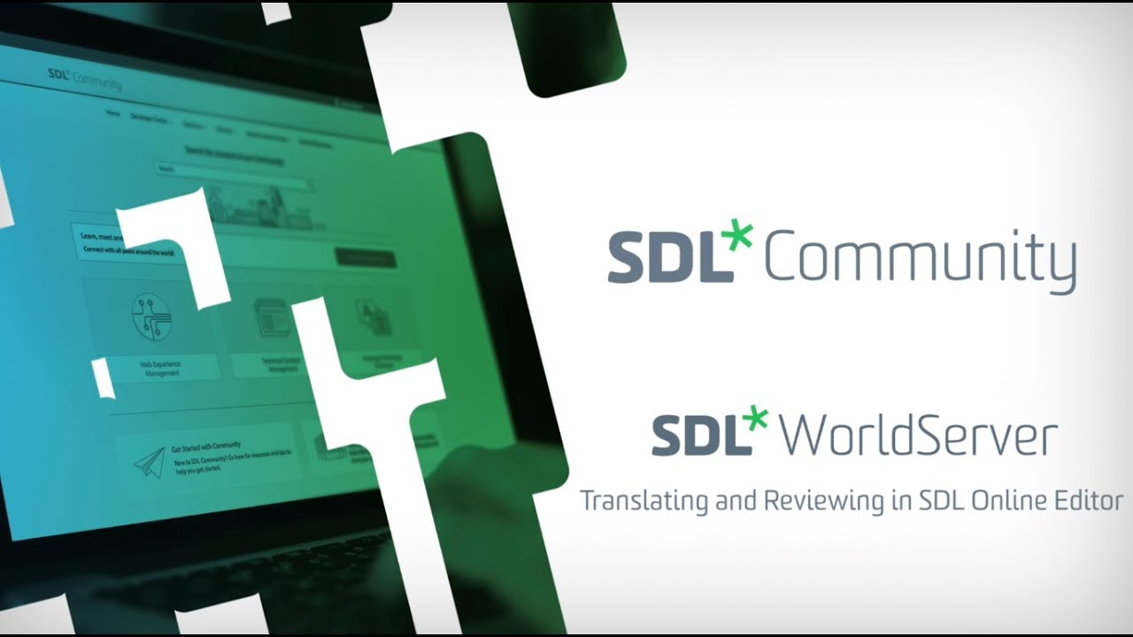 Translating and Reviewing in SDL Online Editor - Videos - SDL