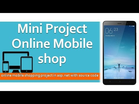 Mini Project || Online Mobile Shop website || ASP.NET