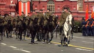 Парад Победы на Красной Площади 9 мая 2015 года