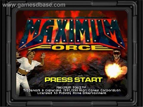 Sega Saturn Longplay [020] Maximum Force