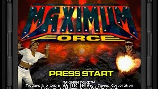 Sega Saturn Longplay [020] Maximum Force