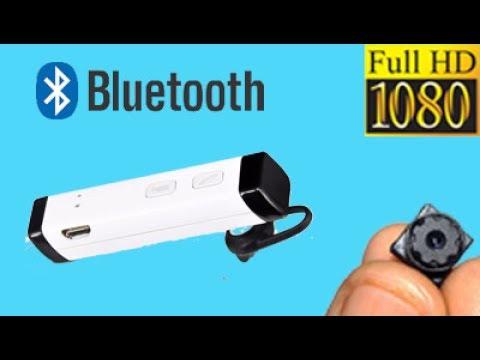 Bluetooth Headset Cam 1080P Full HD!