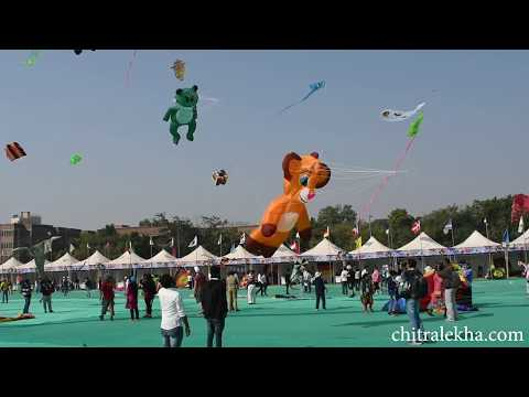 International Kite Festival 2018 in Gujarat, Ahmedabad
