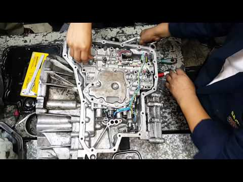 Desmontaje de Filtro de Aceite de caja Nissan ...
