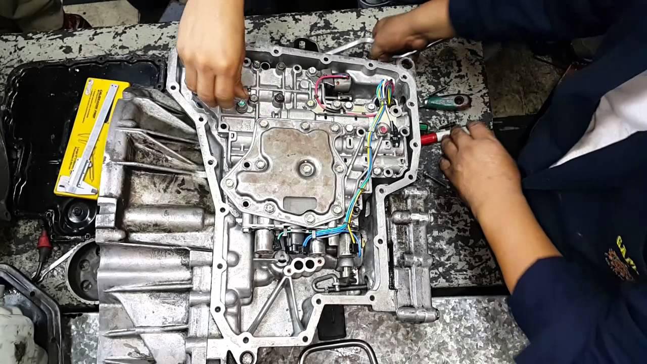 Desmontaje De Filtro De Aceite De Caja Nissan