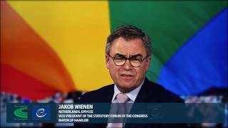 « Come out for Human Rights »: Jakob Wienen, Vice-President of the Statutory Forum of the Congress