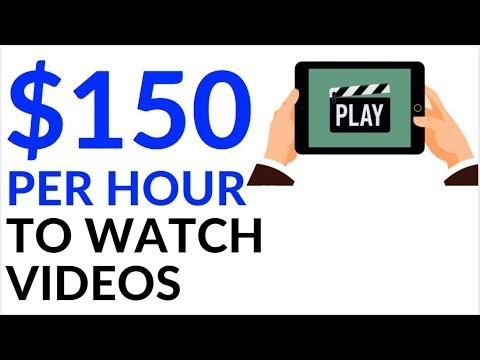 Earn $150 in 1 Hour WATCHING VIDEOS! (Make Money Online)