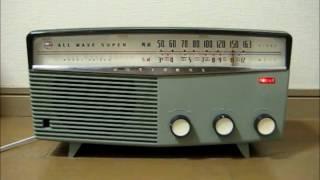 ナショナルの真空管ラジオEA-305です。 昭和32年発売、当時の定価は8500...