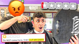 Going to the WORST Reviewed Barber in my City.. (1 STAR)
