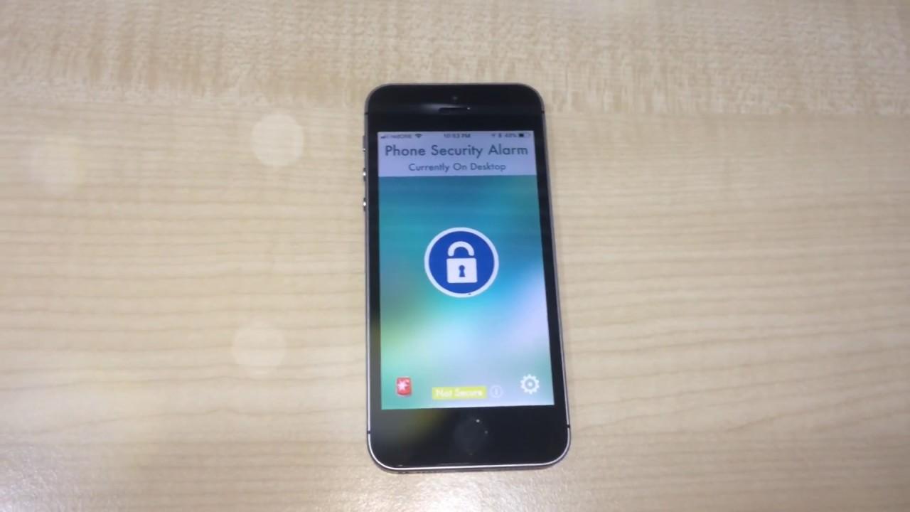 Phone Security Alarm 2 0 Anti Theft