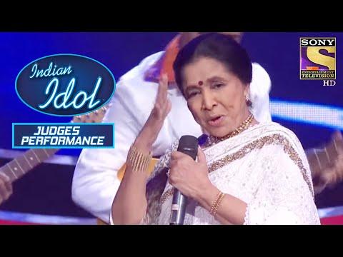 Asha ताई ने दिया एक Grand Medley Performance   Indian Idol   Judges Performances