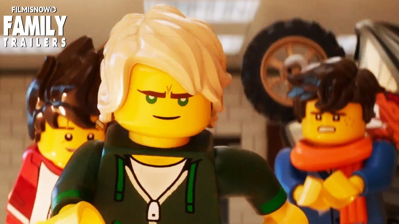 The Lego Ninjago Movie | Oh, Hush! feat  Jeff Lewis Music Video -