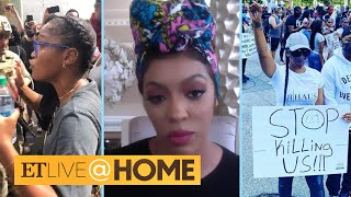 Celebrities Fighting Against Injustice: Keke Palmer, Porsha Williams and More | ET Live @ Home