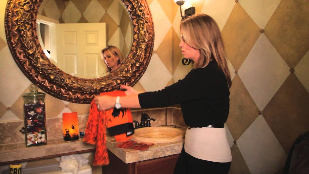 Halloween Bathroom Decor : Unique Interior Decorating Ideas   YouTube