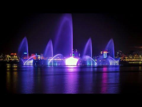 Hatirjheel Water Fountain Dance | Dhaka | Bangladesh [HD]