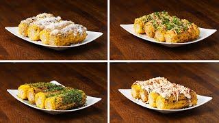 Grilled Corn 4 Ways