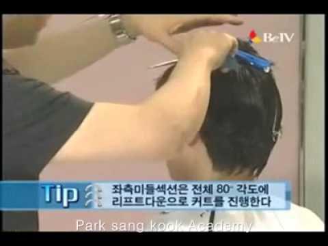 haircut-어시메트릭 쇼트 스타일.wmv