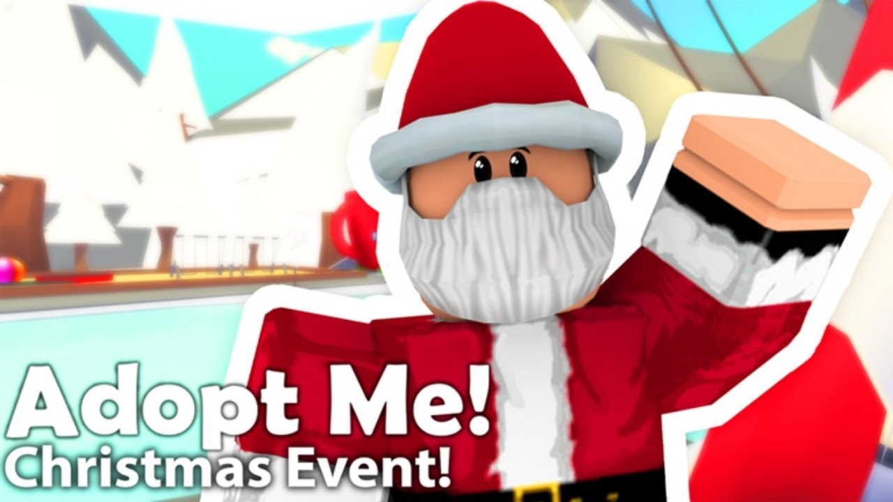 Roblox Christmas Event 2020 Roblox Adopt me Christmas Event 2019   YouTube