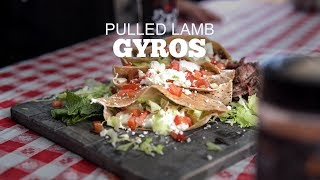 Pulled Lamb Gyros With Big Smoke BBQ