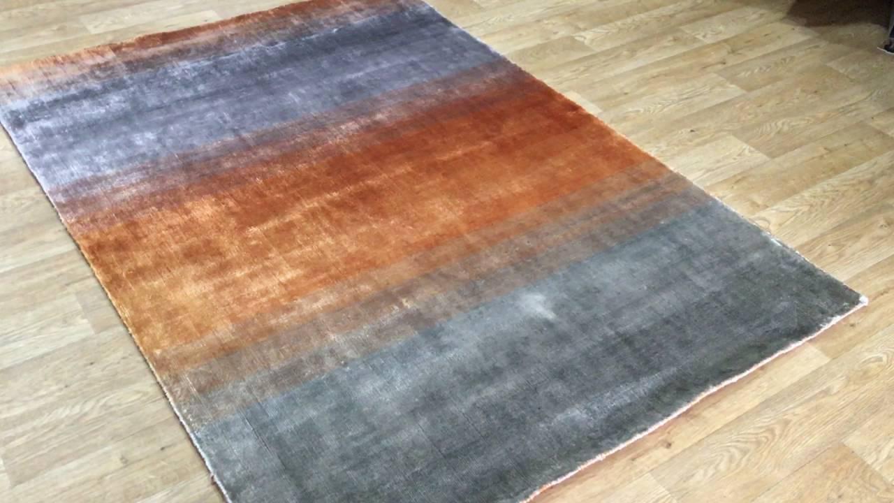 Grace Orange Rugs By Linie Design