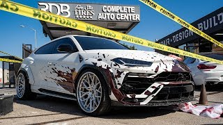 Halloween BLOODY Lamborghini URUS, Lots of Screams and Laughs!