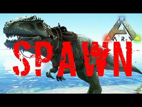 Ark Giganotosaurus spawn (German/Deutsch)