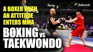 Boxing vs Taekwondo TKD ✓ MMA Superfight